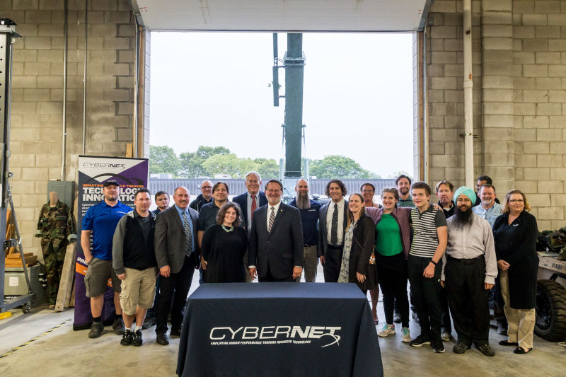 Senator Peters and Cybernet